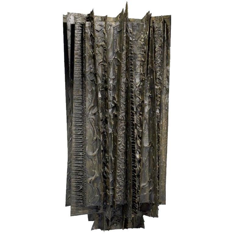 SJAE ALEXANDRE - Paul Evans - Paul Evans Studio Bronze Armoire -