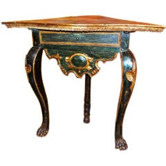 18th Century Spanish Colonial Corner Table