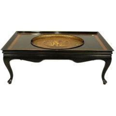 Period Regency Tray in Custom Coffee Table