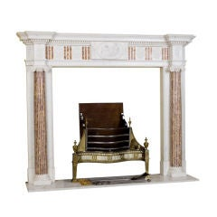A George III Marble Fireplace