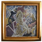 """""""Theatrical Scene"""" by Eugene Savage"""