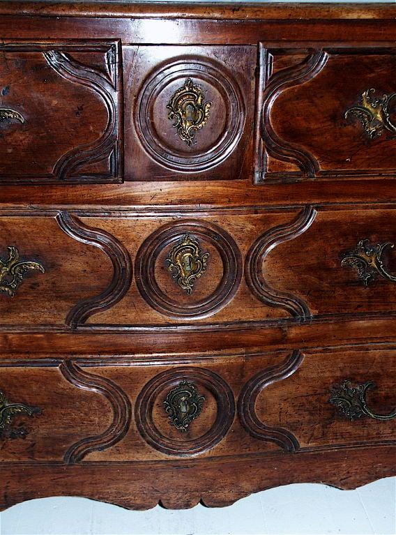 18th Century Louis XV Jean-Baptiste Simoneaux Commode For Sale