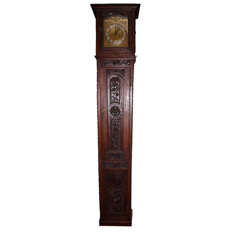 Louis XV Tall Case Clock For Sale