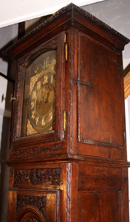 Louis XV Tall Case Clock For Sale 3