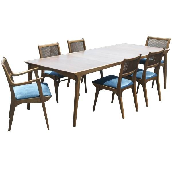 Van Koert For Drexel Dining Table And 6 Chairs 2