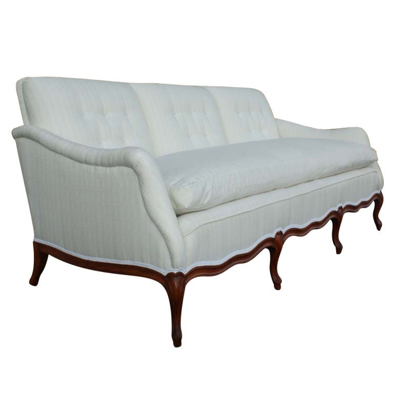 French Country Custom Made Sofa At 1stdibs