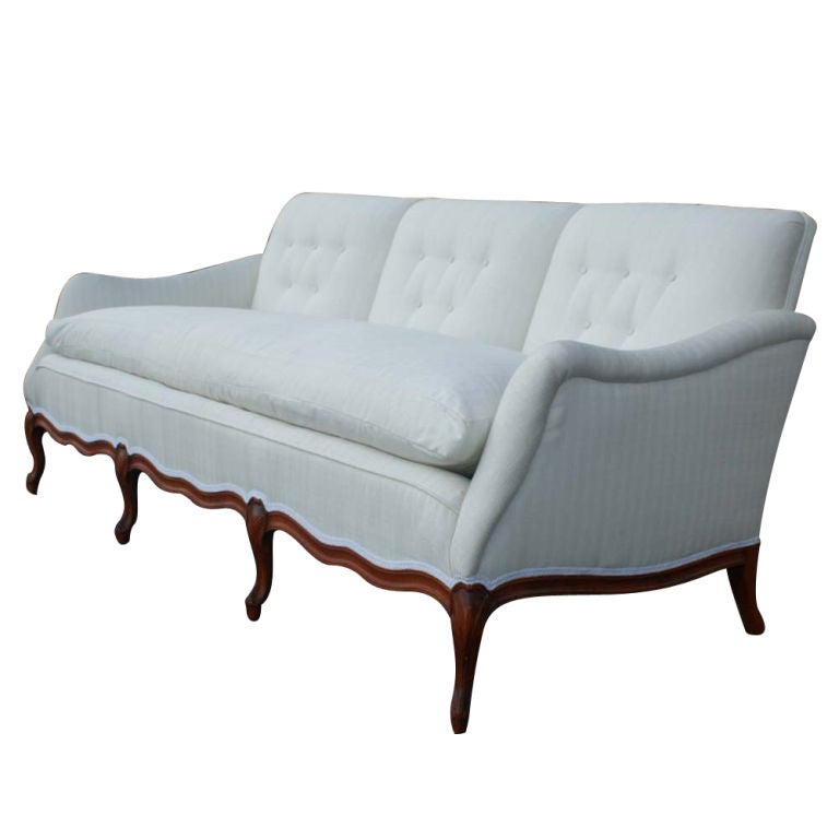 French Country Custom Made Sofa Image 3