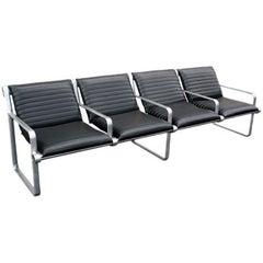 8FT Hannah Morrison for Knoll Four-Seat Airport Seating