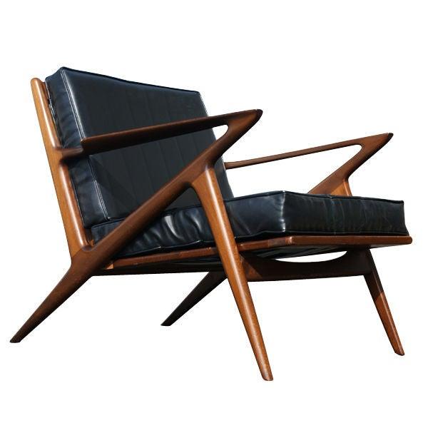 Poul jensen danish z chair for birking at 1stdibs - Poul jensen z chair ...