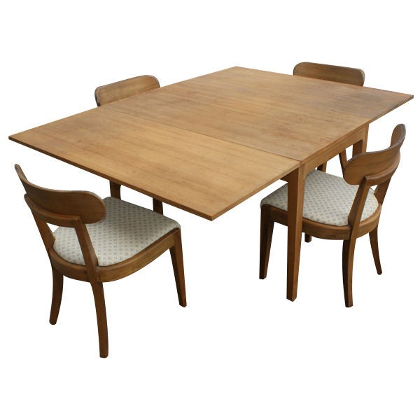 Edward Wormley For Drexel Dining Table And Four Chairs At