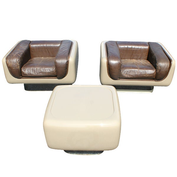 Pair of Steelcase Soft Seating Lounge Chairs 1