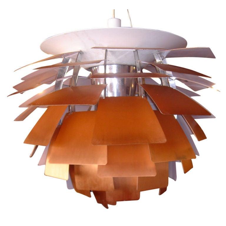 Vintage original Poul Henningsen for Louis Poulsen Artichoke Ceiling Lamp 1