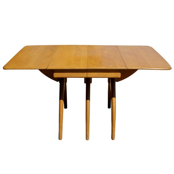 large heywood wakefield dining table at 1stdibs