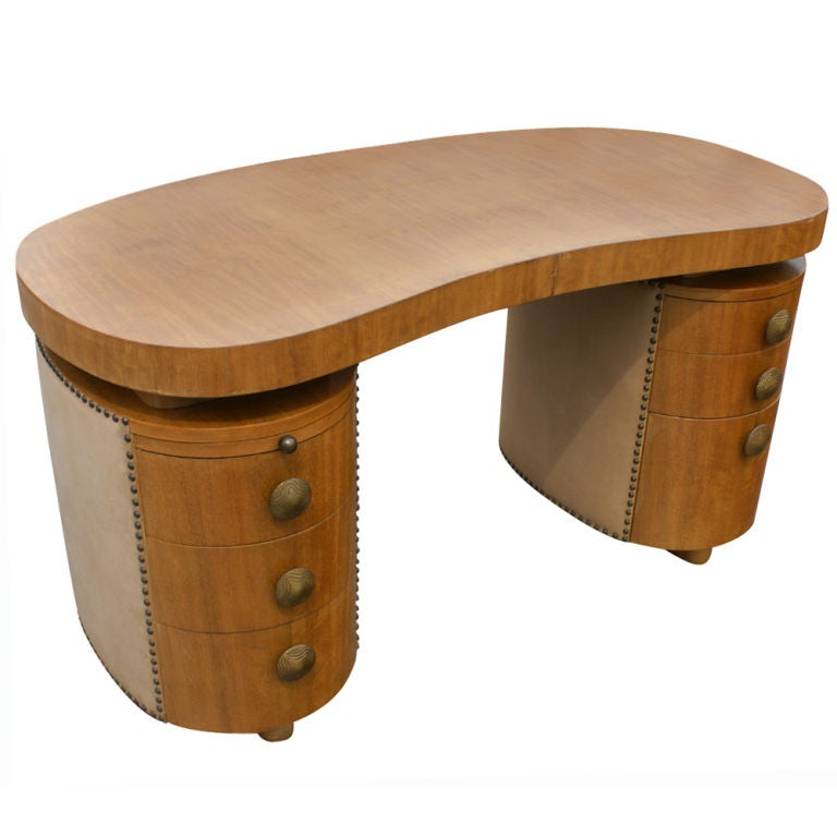 Gilbert Rohde For Herman Miller Desk And Chair at 1stdibs