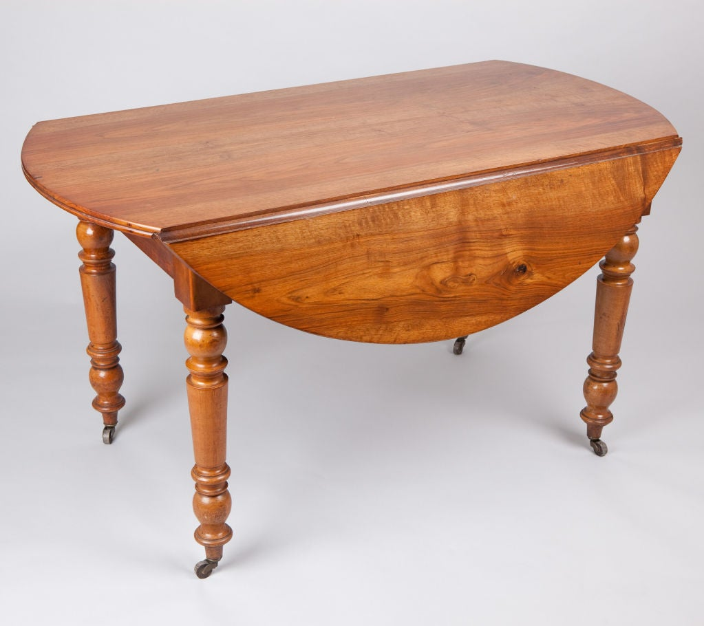 Louis philippe drop leaf table at 1stdibs for Table louis philippe