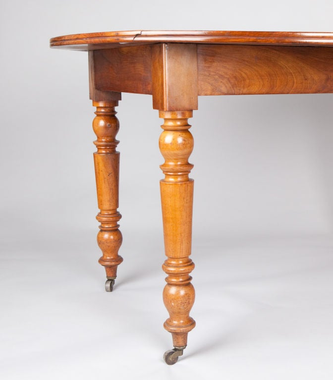 Louis philippe drop leaf table at 1stdibs for Table 6 pieds louis philippe