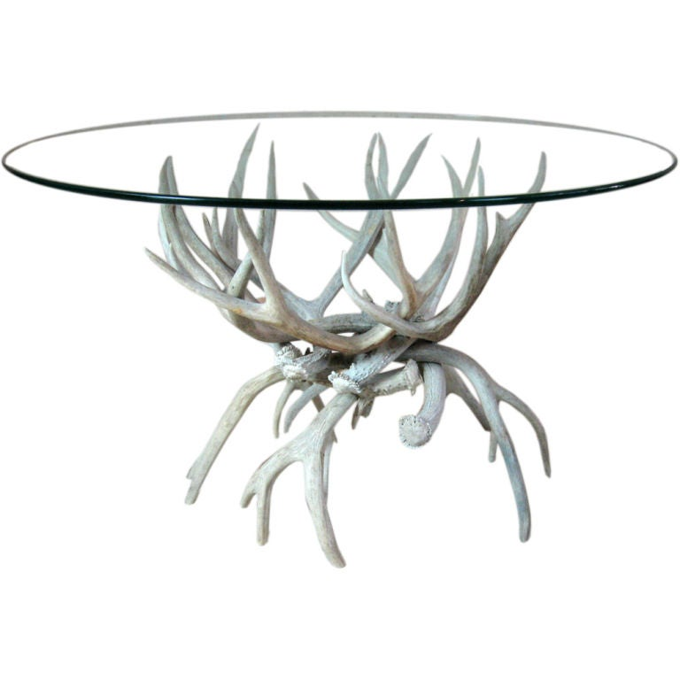 Antler Cocktail Table At 1stdibs