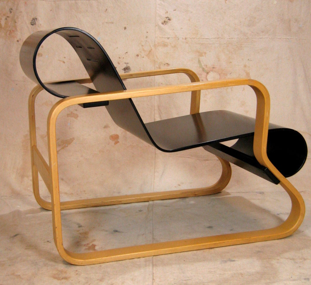Pair Alvar Aalto Paimio Model 41 Chairs For Artek At 1stdibs