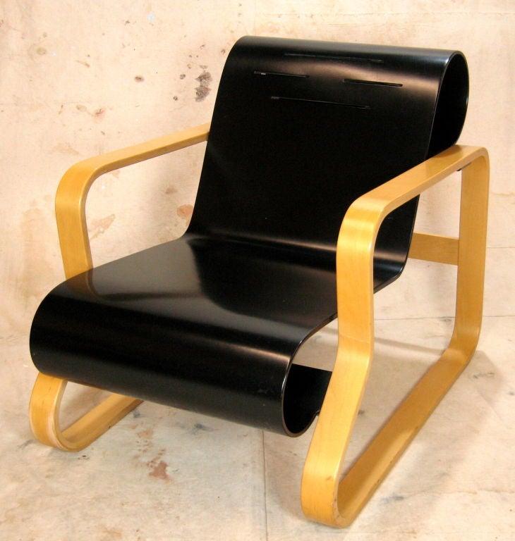 Pair Alvar Aalto Paimio Model 41 Chairs For Artek At 1stdibs
