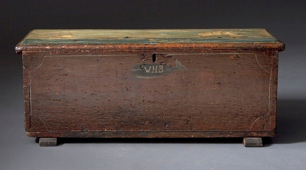 Seaman 39 s chest at 1stdibs for Seamans furniture