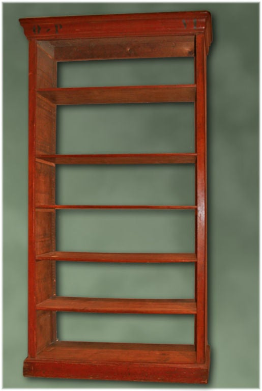 Italian tag re biblioteque with o p at 1stdibs - Etagere cases carrees ...