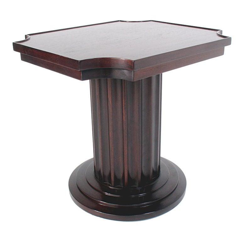 Column end table for Html table column