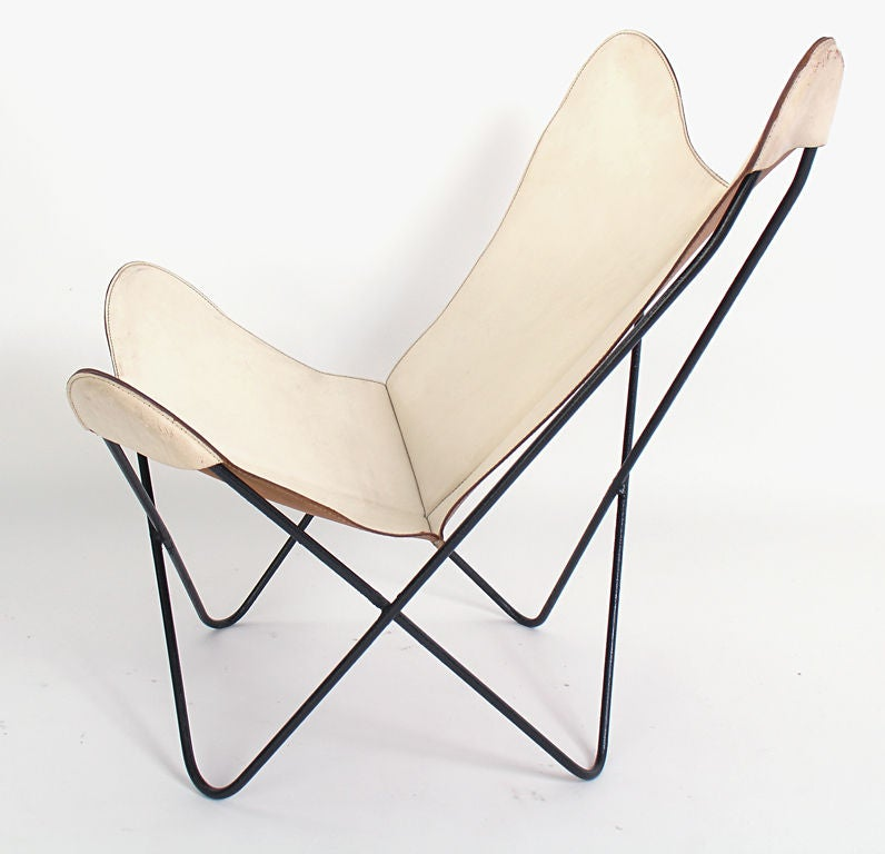 Sculptural Erfly Chair Designed By Jorge Ferrari Hardoy Circa 1960 S Rarely Seen In