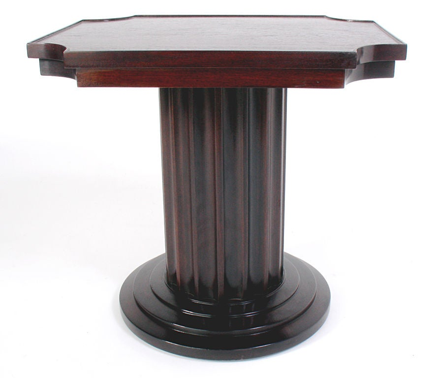 Neoclassical column table circa 1940 39 s at 1stdibs for Html table column