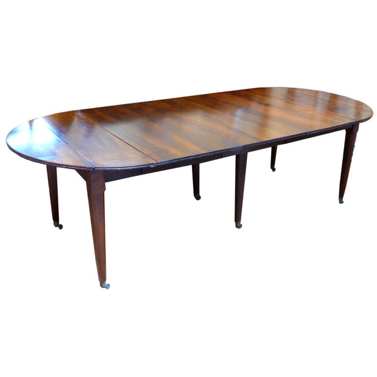 Rustic French Provincial Extending Dining Table At 1stdibs