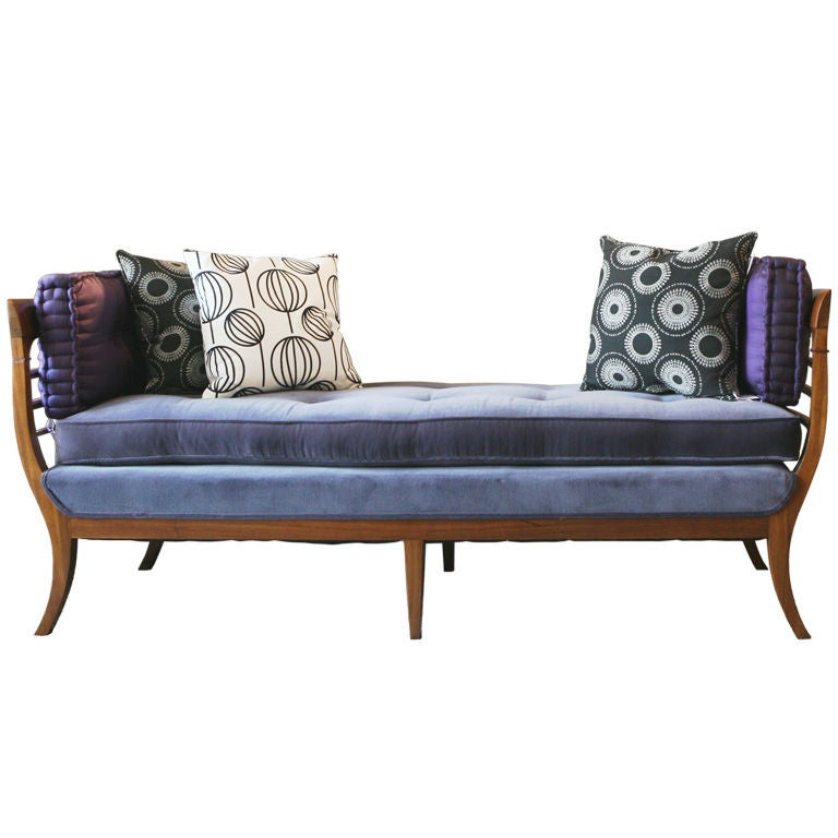Scandanavian chaise at 1stdibs for Chaise interiors inc