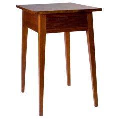 Walnut Hepplewhite One Drawer Stand