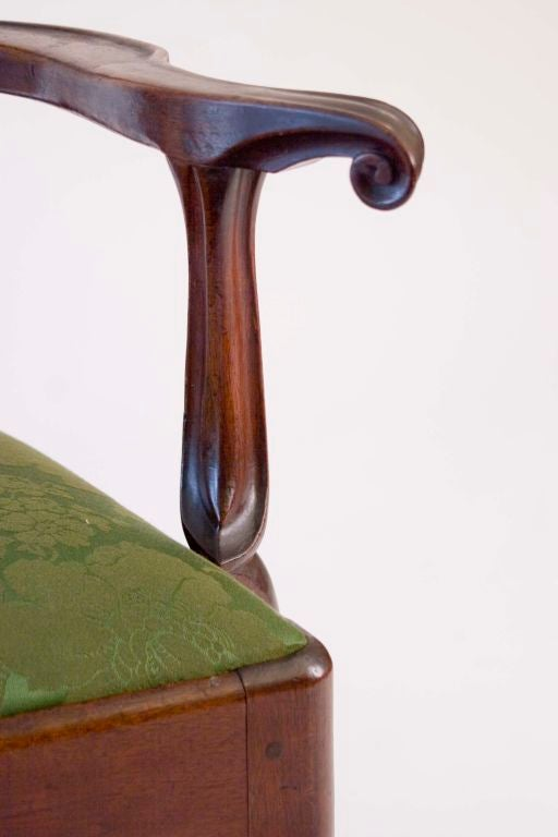 Walnut Queen Anne Armchair image 6
