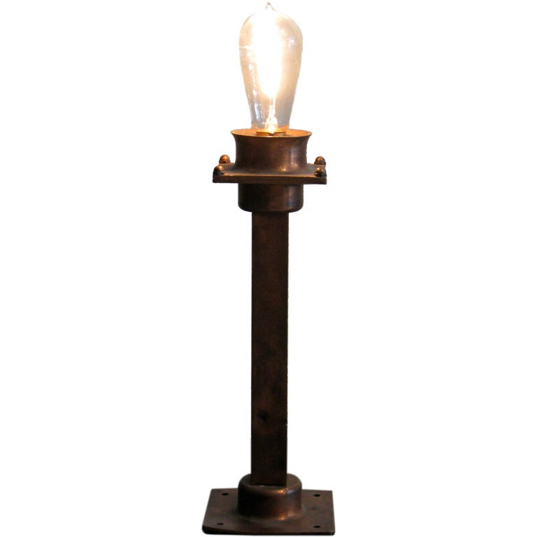 New York City Copper Subway Light At 1stdibs