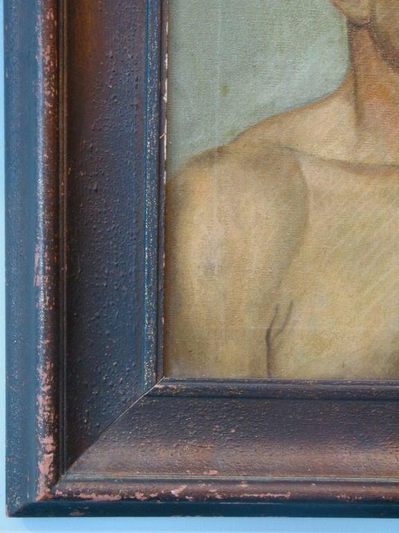 Oil Portrait of a Boxer 1