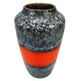 Large Mid-Century Modern Vase by Scheurich Keramik