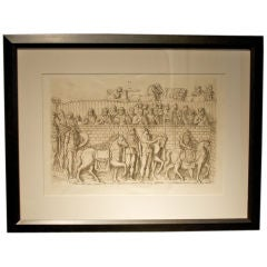 Framed Engravings of Trajan's Column