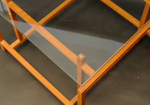 Mid-20th Century Architectural Side Tables by Henning Norgarrd for Komfort