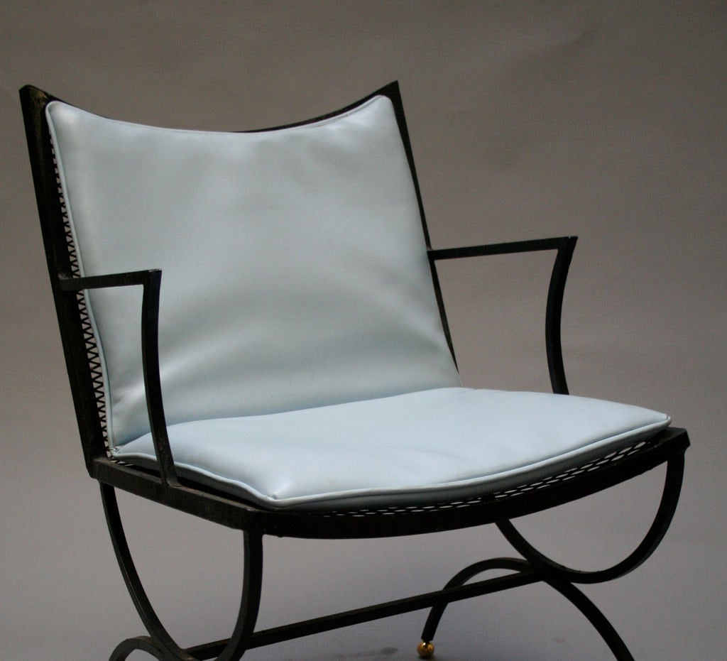 Set Of Six Bob Anderson Arm Chairs At 1stdibs