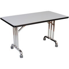 Industrial Design Writing Table by General Fireproofing