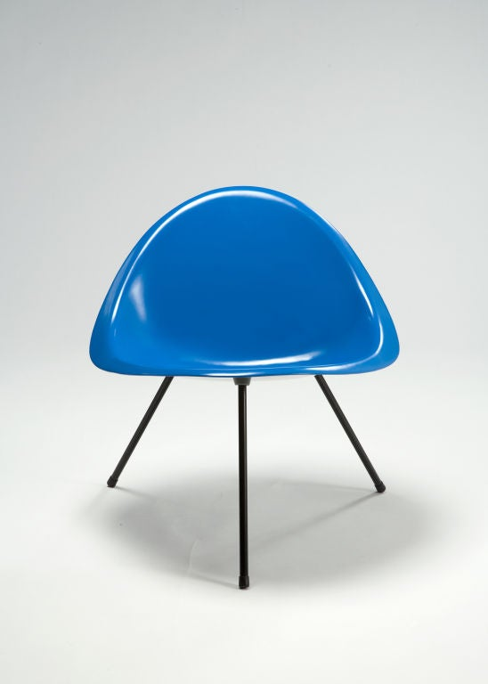 Tripod Chair Designed by Poul Kjaerholm, Denmark, 1953 2