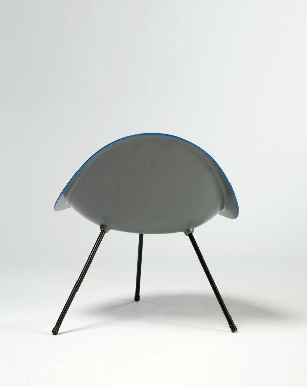 Contemporary Tripod Chair Designed by Poul Kjaerholm, Denmark, 1953 For Sale