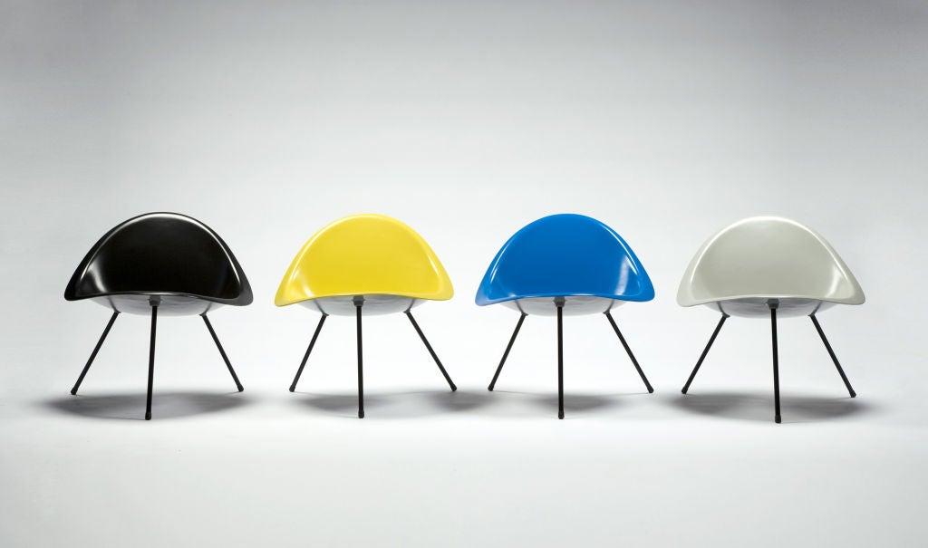 Tripod Chair Designed by Poul Kjaerholm, Denmark, 1953 For Sale 1