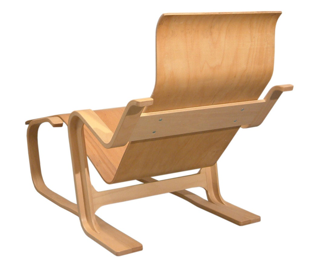 Reclining chair by marcel breuer at 1stdibs for Breuer chaise lounge