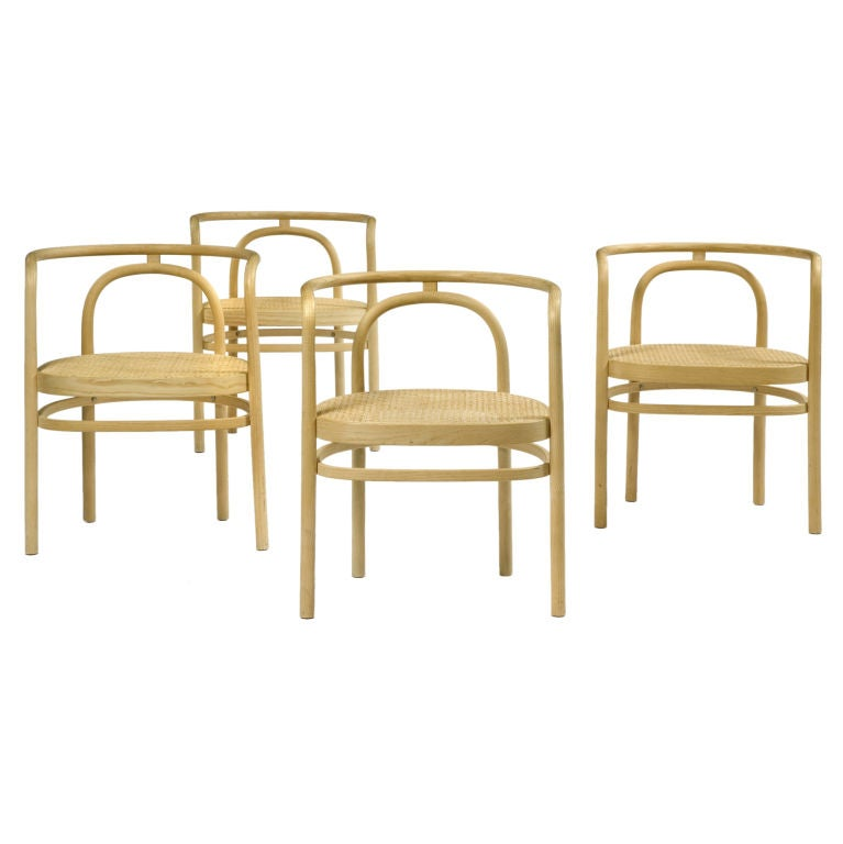 Set of Four PK 15 Chairs by Poul Kjaerholm For Sale