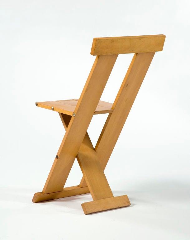 """Frei Egidio"" chair by Lina Bo Bardi 4"