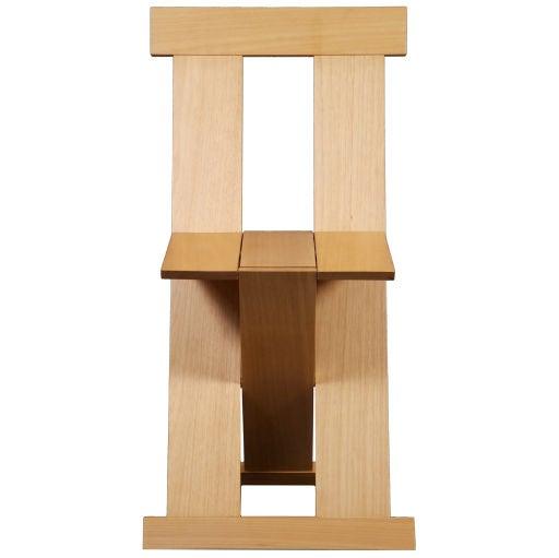 """Frei Egidio"" chair by Lina Bo Bardi"