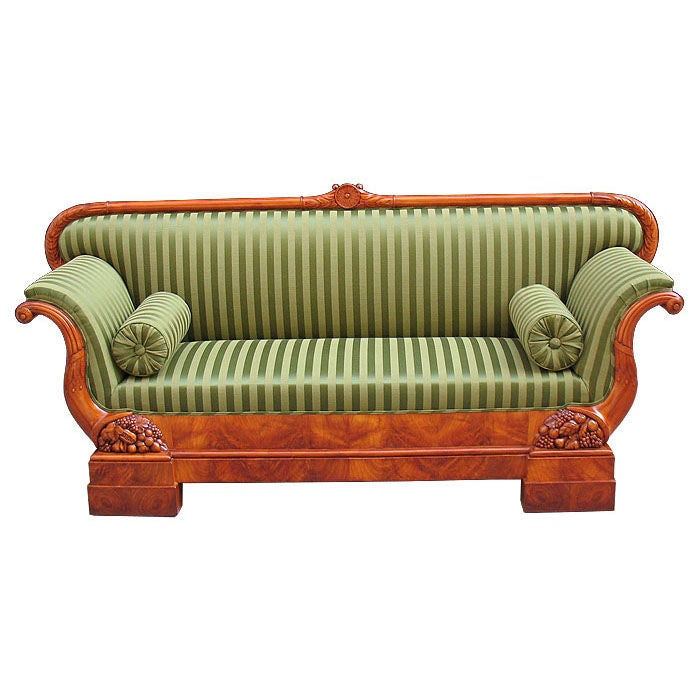 Magnificent South German Biedermeier Sofa For Sale At 1stdibs