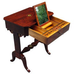 Viennese Biedermeier Lady's Make-Up Table