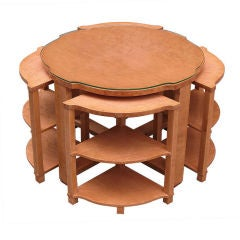 French Art Deco Nest of Tables