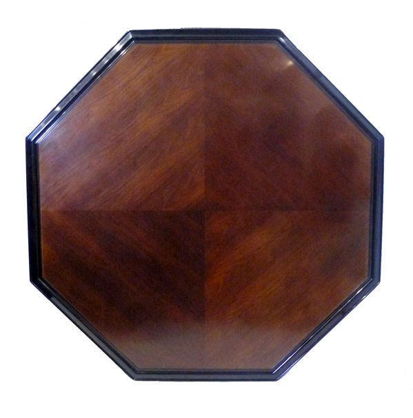 Hollywood Regency Octagonal Dining Table by Maurice Bailey for Monteverdi & Young 1960s For Sale